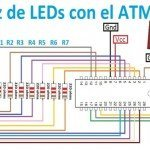 Matriz de LEDs 5×7
