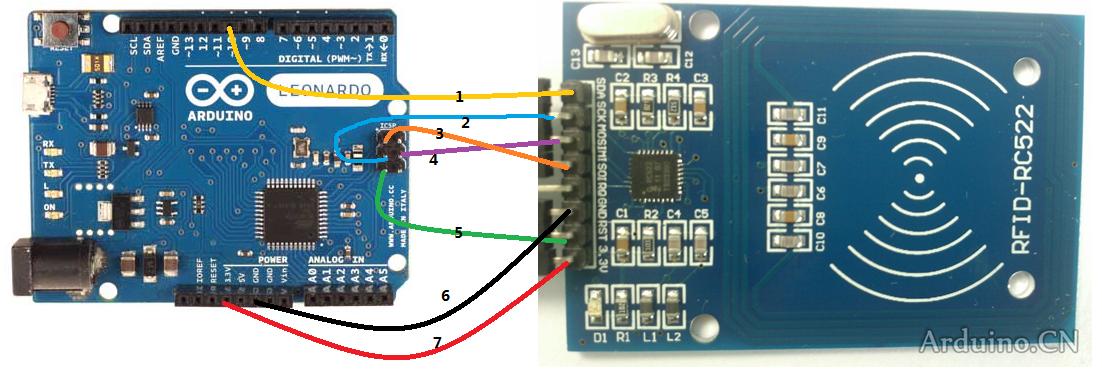 Módulo Lector RFID-RC522 RF