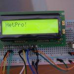 LCD 16×2  EW162B0YMY con Arduino UNO