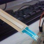 SoftPot sensor de desplazamiento resistivo