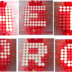 Matriz de LEDs con ATmega8